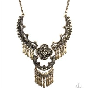 Rogue Vogue - Brass Necklace
